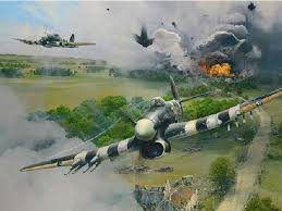 wwii art military defence