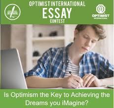 Optimist Essay Contest Optimist Club Of Oakville