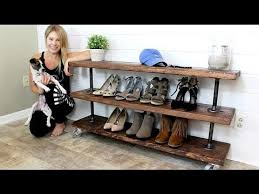 the industrial shelving unit easy diy project