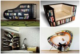 Creative Bookshelves Design and Ideas