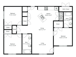 Attractive Three Bedroom Apartments Elegant Perfect Three Bedroom Apartment Plan  Inside Bedroom Photo Gallery 2 Bedroom Apartments