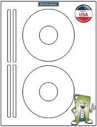 Details About 1000 Cd Dvd Labels Fits Size 5931 8931 8692 Laser Ink Jet 500 Sheets