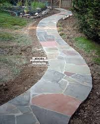 flagstone pathway pictures | Stepping Stone Walkways