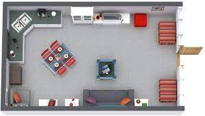 Floor plan dwg file free download cad drawing of floor plans. Roomsketcher Blog Teen Hangout With Coffee Shop Theme