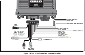how to install an msd power grid system on your 1979 1995 mustang of the system controller the paired ignition must have a built in soft touch rev control that uses plug in rpm modules pages 10 12 show wiring diagrams