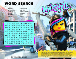 Legos For Free The Lego Movie Printables Activity And Coloring Pages