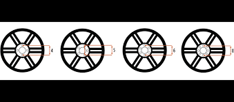 Measuring Bolt Pattern Gorgeous Wheel Bolt Pattern Guide