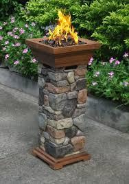 backyard creations sedona 29 fire column at menards