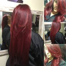 Red Hair Done Home By Professional