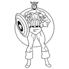 Captain Marvel Coloring Pages At Getdrawingscom Free For Personal