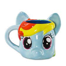 My Little Pony Rainbow Dash 3D Becher
