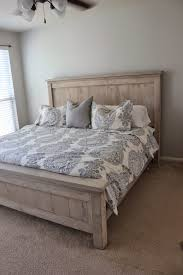 farmhouse bed frame. Simple Farmhouse Now Iu0027d Like To Mention That We Really Arenu0027t DIY Pros And Have Never  Considered Ourselves Crafty Peoplebut Came Across The Ana White Farmhouse Bed On  Intended Frame R