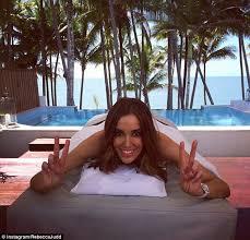 Busty brunette rebecca massaged