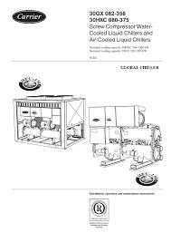 carrier 30hxc chiller wiring diagram best wiring diagram image 2018 TV Wiring Diagram at Carrier 30gb Chiller Wiring Diagram