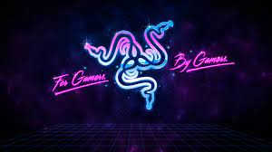 Razer, For Gamers By Gamers, Neon, 4k ...