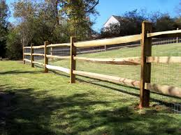 Ranch Style Wood Fence Designs Wood Ranch Rail Fence Fencing ideas