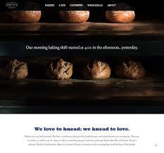 20 Best Bakery Websites Web Design Inspiration 2019