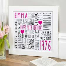 personalized typograhic print on personalized wall art gifts with personalized gifts for birthdays typographic prints canvases