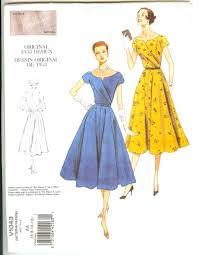Vintage Patterns Wiki Impressive DollsFashionArt Sew Retro And Some Scarf Ideas