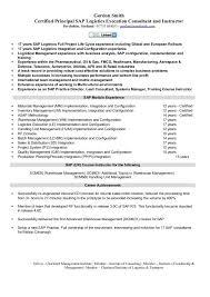 Gordon Smith Certified Principal Sap Logistics Execution Consultant