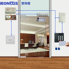 get quotations ronttis luo disi suite glass door access control system magnetic lock lock electronic access control card