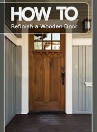 how to refinish front doorHow to Refinish an Exterior Door The Easy Way  Front doors