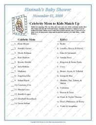 Exciting Famous Moms Baby Shower Game 87 For Your Easy Baby Shower Famous Mothers Baby Shower Game