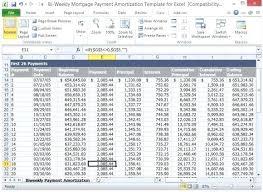 Weekly Loan Amortization Calculator Excel Harryho Co