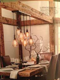 Rustic Kitchen Lighting Love The Rustic Table And Beamwork Kitchen Remodel Light