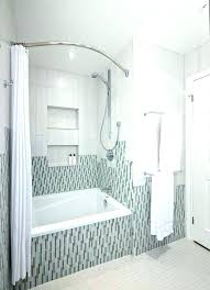 curved curtain rods install curved shower curtain rod shower curtain rod installation inspired curved shower curtain