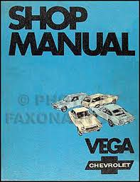 chevrolet vega service manuals shop owner maintenance and 1971 chevy vega repair manual original