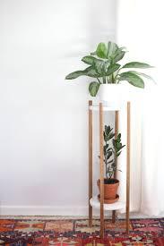 mid century plant stand