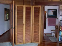 best wooden closet louver door design