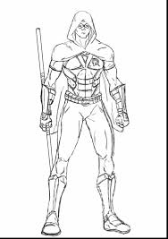 beautifull lego nightwing coloring pages
