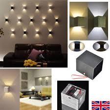 modern spot lighting. Modern 3W LED Wall Light Up Down Lamp Sconce Spot Lighting Bedroom Fixture White