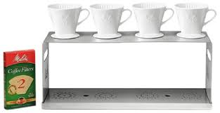We have reviewed the seven best 3. Melitta 4 Station Stainless Steel Pour Over Coffee Bar Amazon Com Grocery Gourmet Food