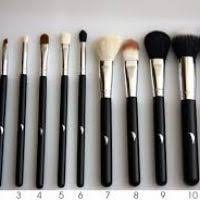 the 11 brushes prising the featherstroke s plete makeup brush set