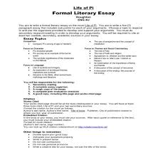 literary analysis essay conclusion example to comparison paragraph   literary essay topics toreto co comparison unique faith words of mckay contest winners life pi agnostic