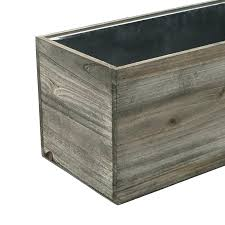 rectangular flower pot wooden rectangle planters wood planter box pack of 1 large plant trays