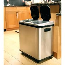 stunning double trash can com lovely big kitchen majestic 3 trash cans for kitchen oxo kitchen