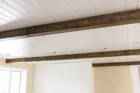 faux ceiling beams diy.  Ceiling View From The Living Room I Canu0027t Wait To Get Rid Of This Railingu2026 For Faux Ceiling Beams Diy L