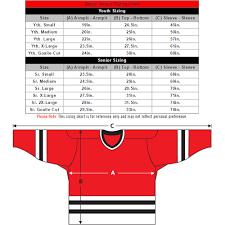 Bauer Jersey Size Chart Kasa Immo