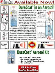 Duracoat Aerosol Color Chart Duracoat Aerosol Kit Metal Collection Colors