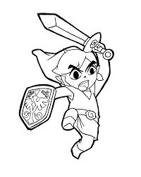 Princess Zelda Coloring Pages At Getcoloringscom Free Printable