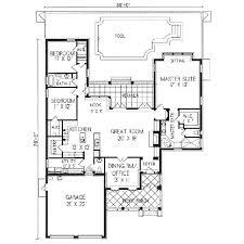 adobe house floor plans lovely adobe southwestern style house plan 3 beds 2 50 baths