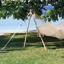 as madera wooden hammock stand