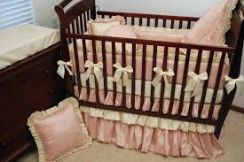 brown crib sheets pink and cream silk crib bedding charlie brown crib sheets