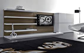 Modern Living Room Cabinet Modern Living Room Designs Dark Brown Laminated Wooden Cabinet