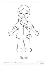 Coloring Book Pages For Boys H1475 Male Nurse Coloring Page For