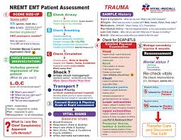 Emt Assessment Trauma And Medical Training Sheets 50 Sheets Per Pack